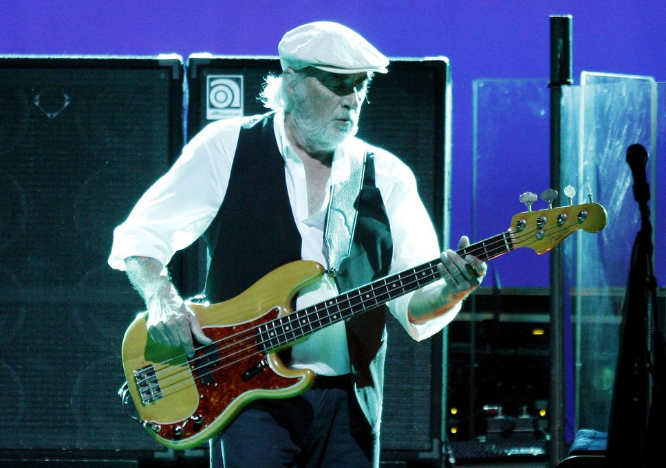 John McVie, of Fleetwood Mac, diagnosed with cancer