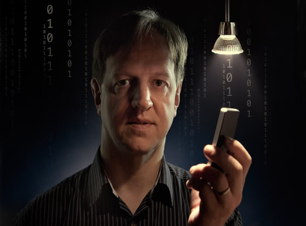 Professor Harald Haas coined the term Li-Fi and is at the forefront of research into the new technology.
