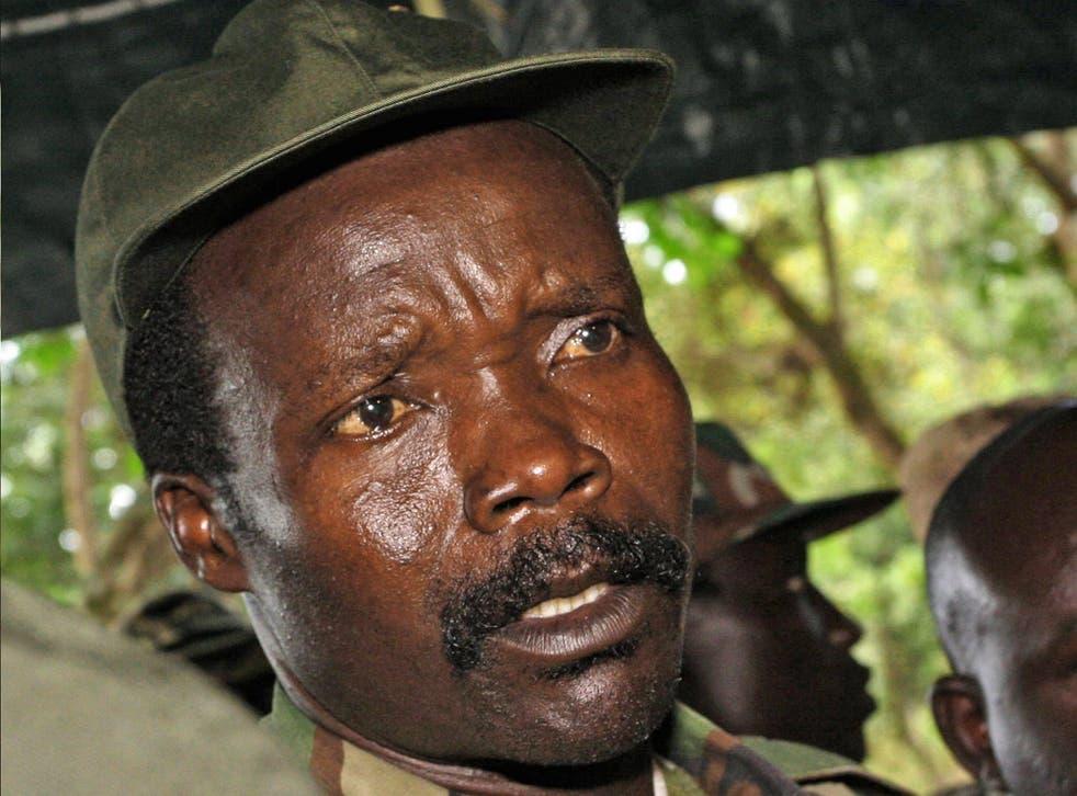 Joseph Kony, leader of the rebel forces