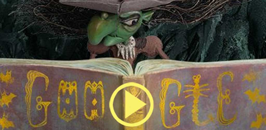 Halloween Witch: Google homepage gets into the spooky spirit with ...