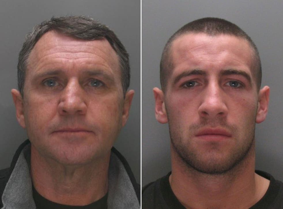 Gerrard (left) and Moogan are sought by police for alleged drug-smuggling and firearms offences