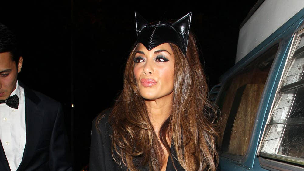 Nicole Scherzinger Halloween Costume.Jonathan Ross Halloween Party Nicole Scherzinger And Kate Moss Look
