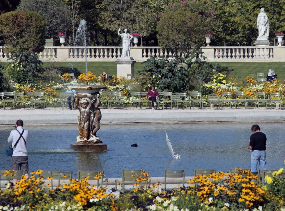 Space to think: Jardin du Luxembourg