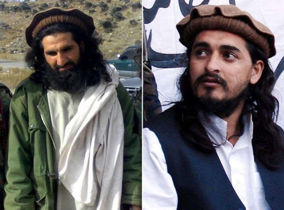 A flurry of reports suggested the Taliban would not decide a replacement for Hakimullah Mehsud, right, for several days. Among those named as possible successors were his deputy, Khan Said, left, who is also known as Sajna