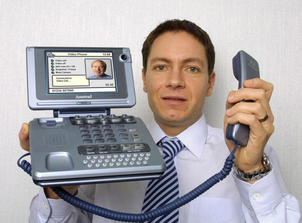 Sir Alan Sugar and his son Simon, pictured, run Amscreen, which developed the OptimEyes technology