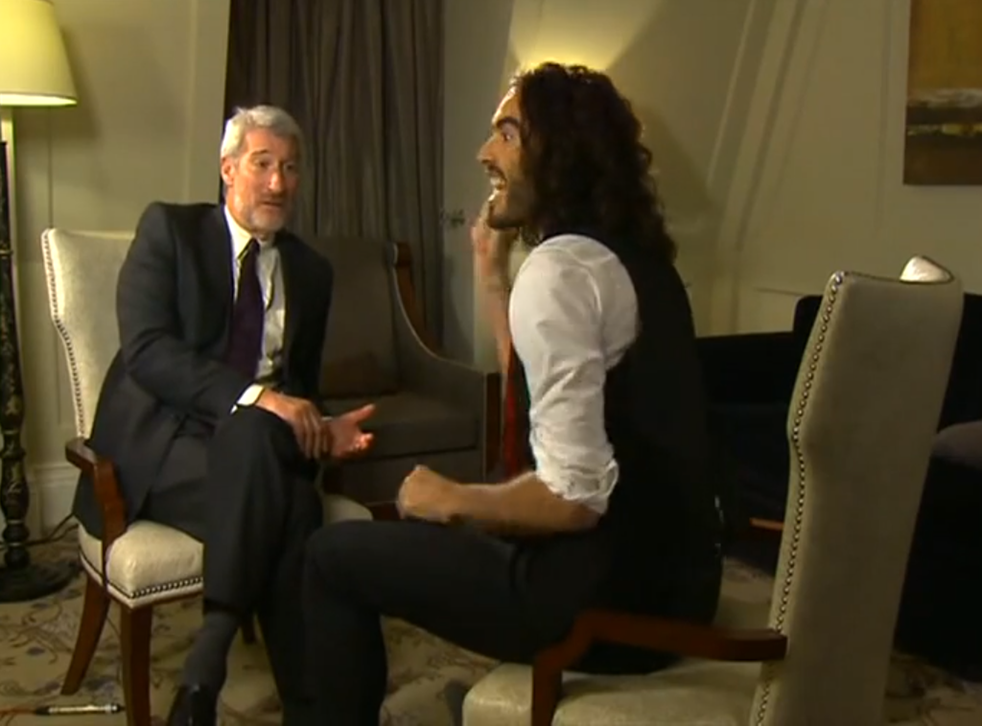Jeremy Paxman interview Russell Brand for Newsnight
