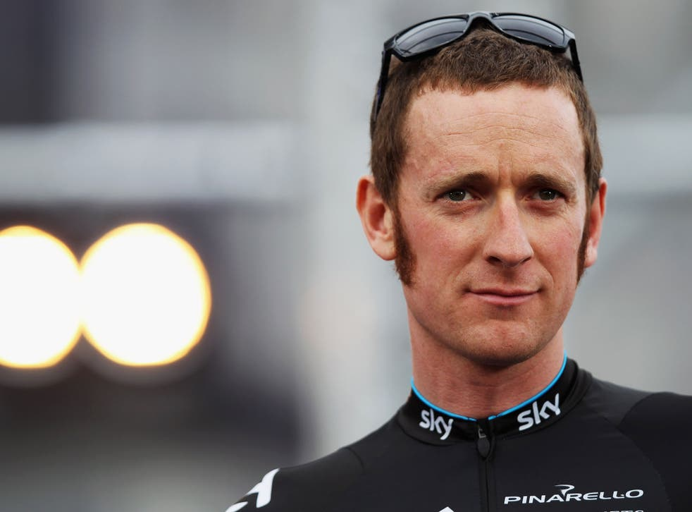 Sir Bradley Wiggins made an unwelcome remark at a charity dinner