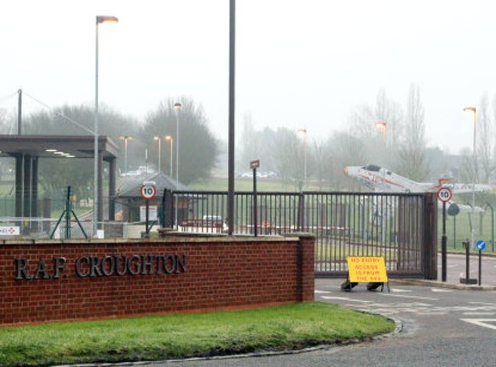 RAF Croughton in Northamptonshire