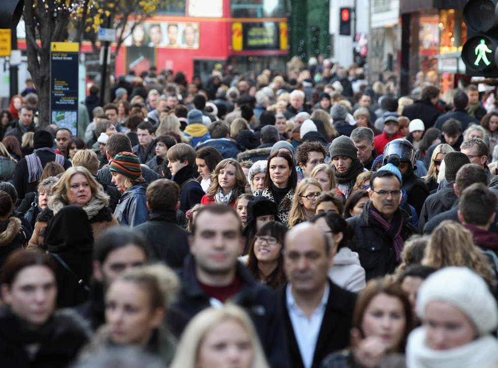 Projected 9.6 million rise in thepopulationwould mean an increase bigger than the current 8.3 millionpopulationof London