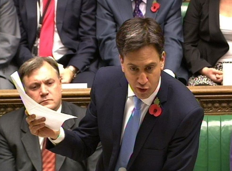 Ed Miliband has called David Cameron 'clueless' about the crisis facing the NHS