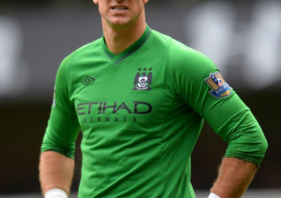 timeless design 266da 6d52a Manchester City goalkeeper Joe Hart stays in firing line as ...