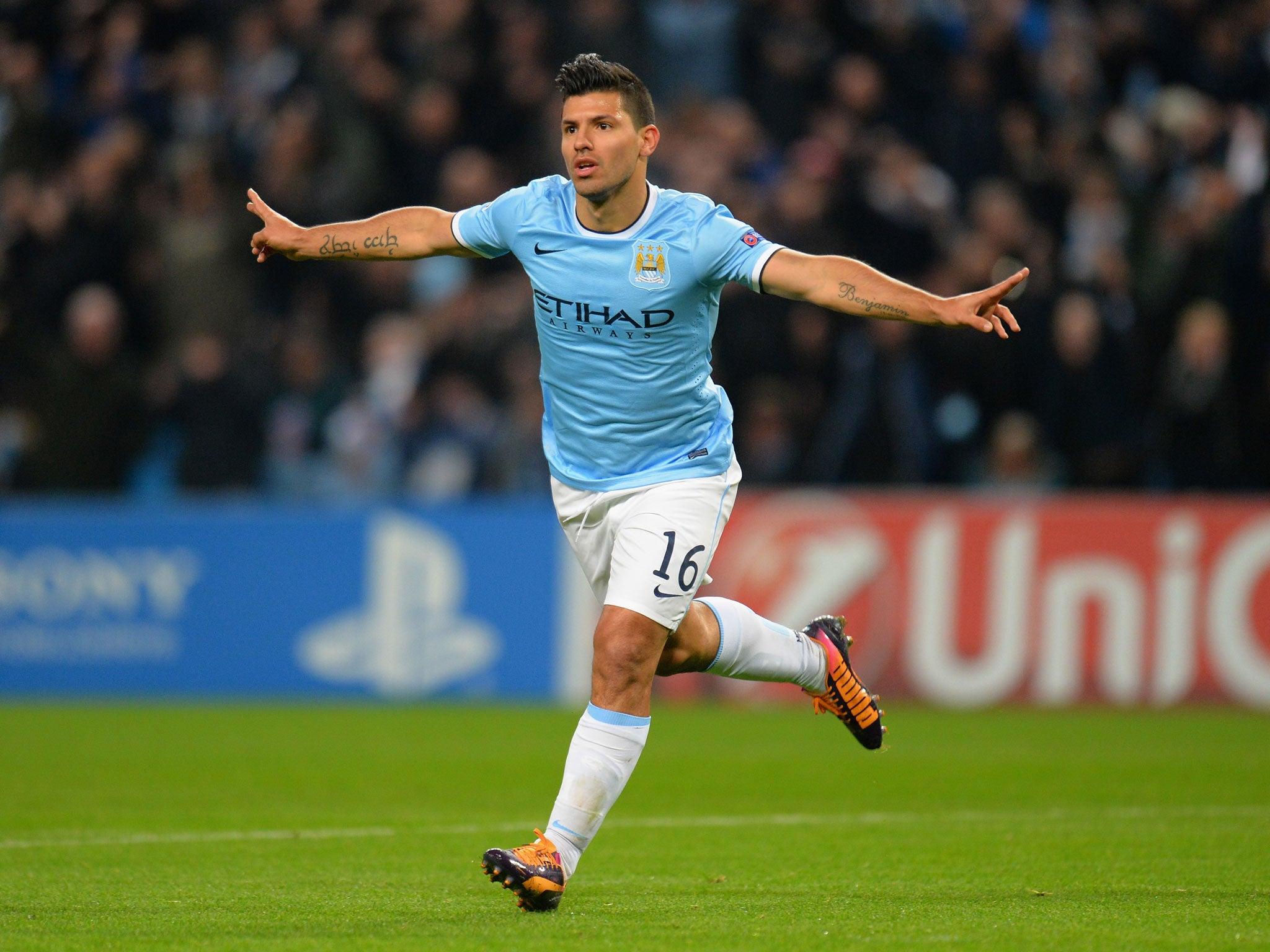 manchester city striker sergio aguero admits points mean