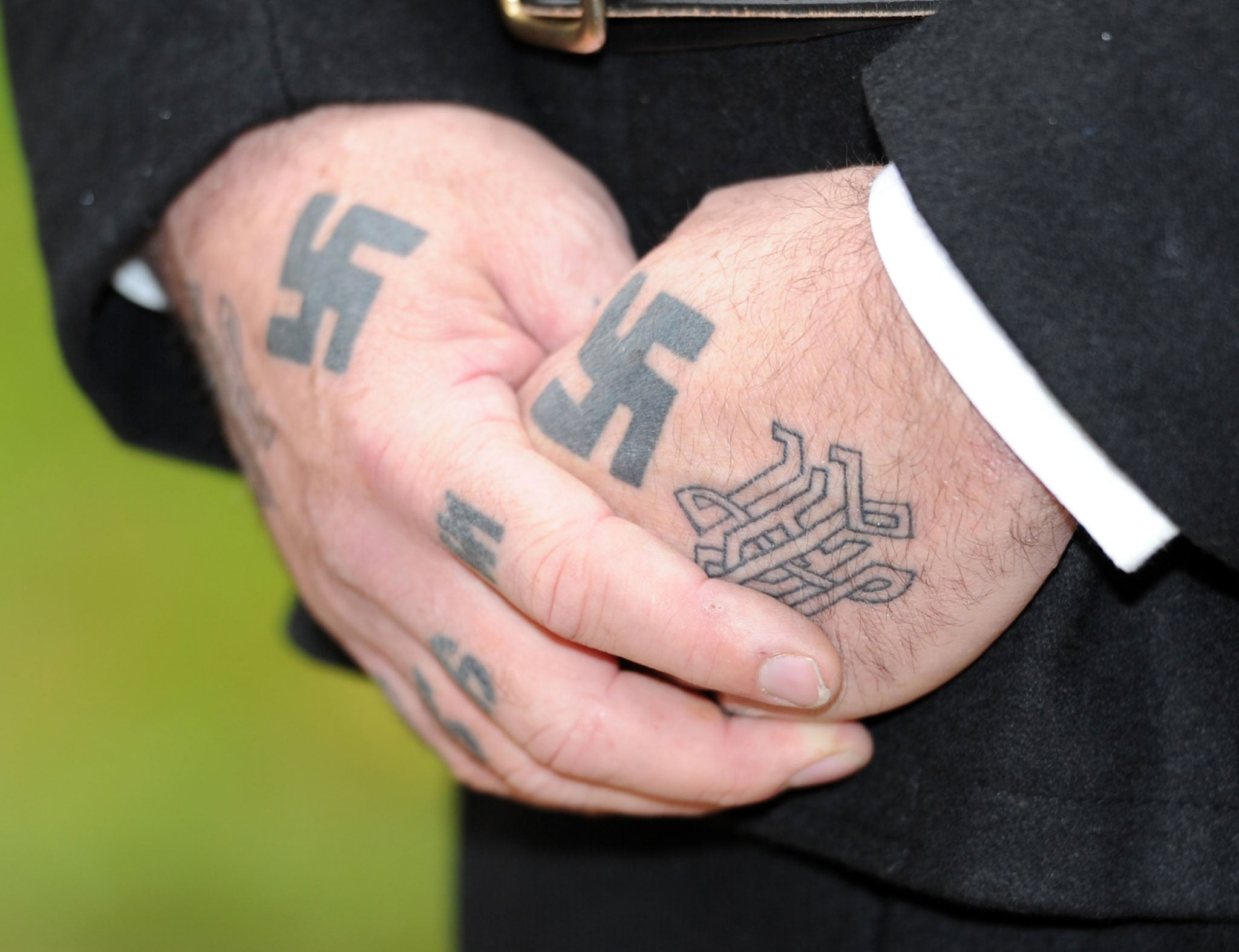 Scottish tattoo parlours to offer free swastika inkings in bid to scottish tattoo parlours to offer free swastika inkings in bid to reclaim symbol the independent biocorpaavc Image collections