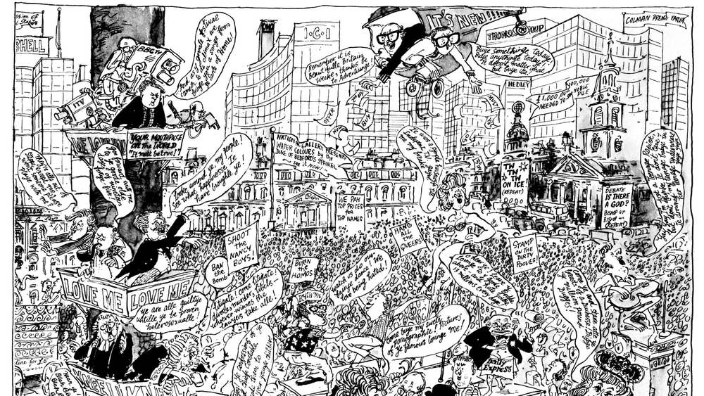 National Lampoon 50 Years Of Private Eye S Ingenious Political