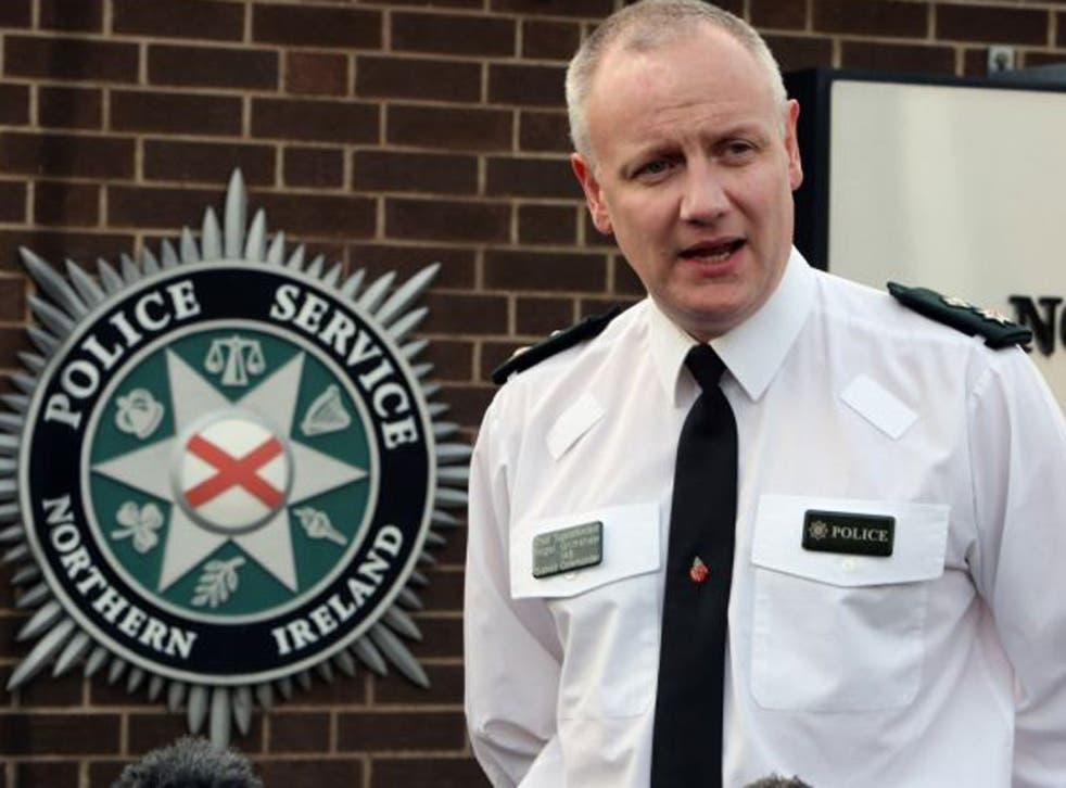 PSNI Chief Superintendent Nigel Grimshaw warned other officers to be vigilant