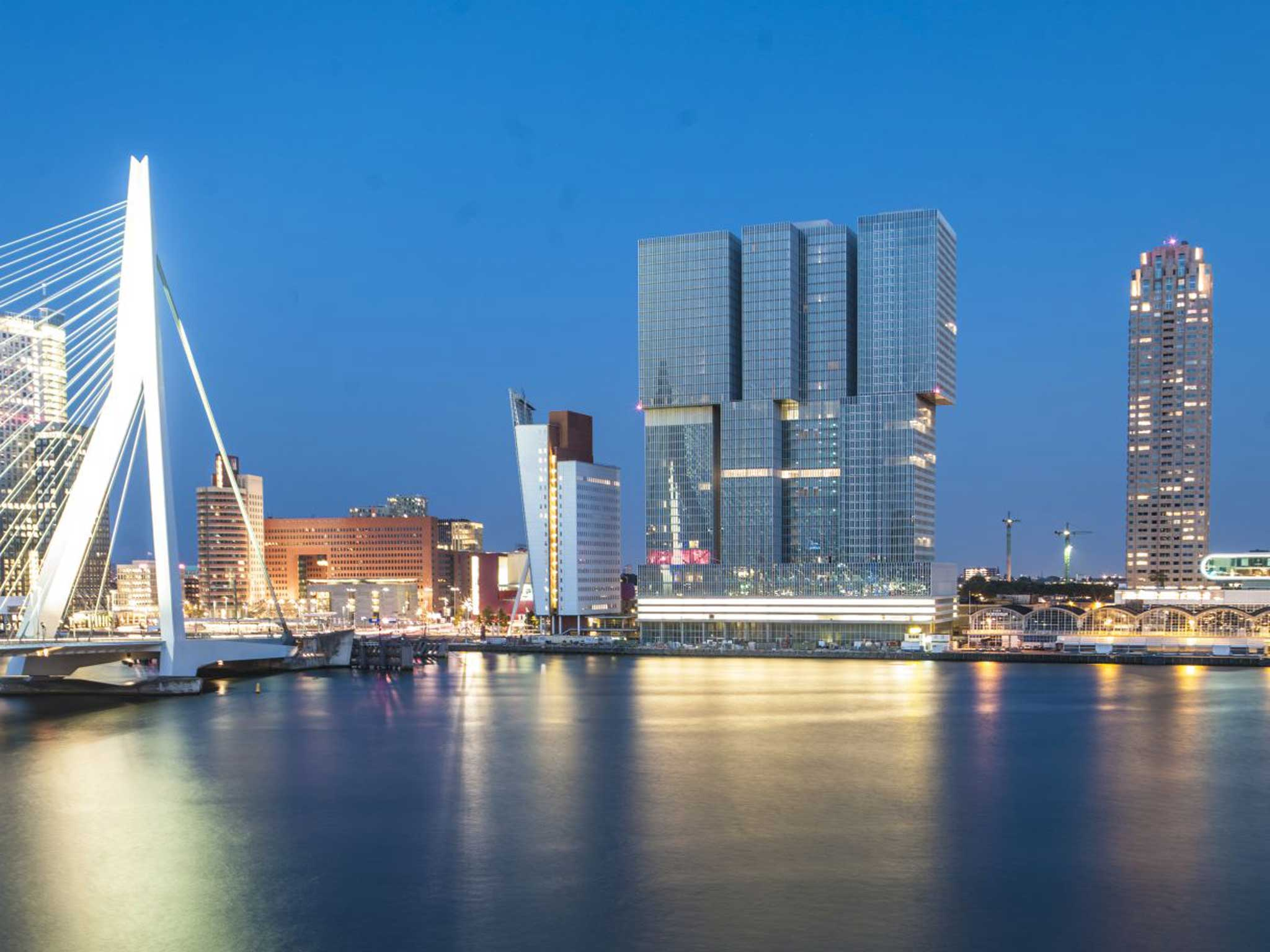 Travel by numbers: Rotterdam - Vertical city hits new heights in industrial-chic design | The Independentindependent_brand_ident_LOGOUntitled