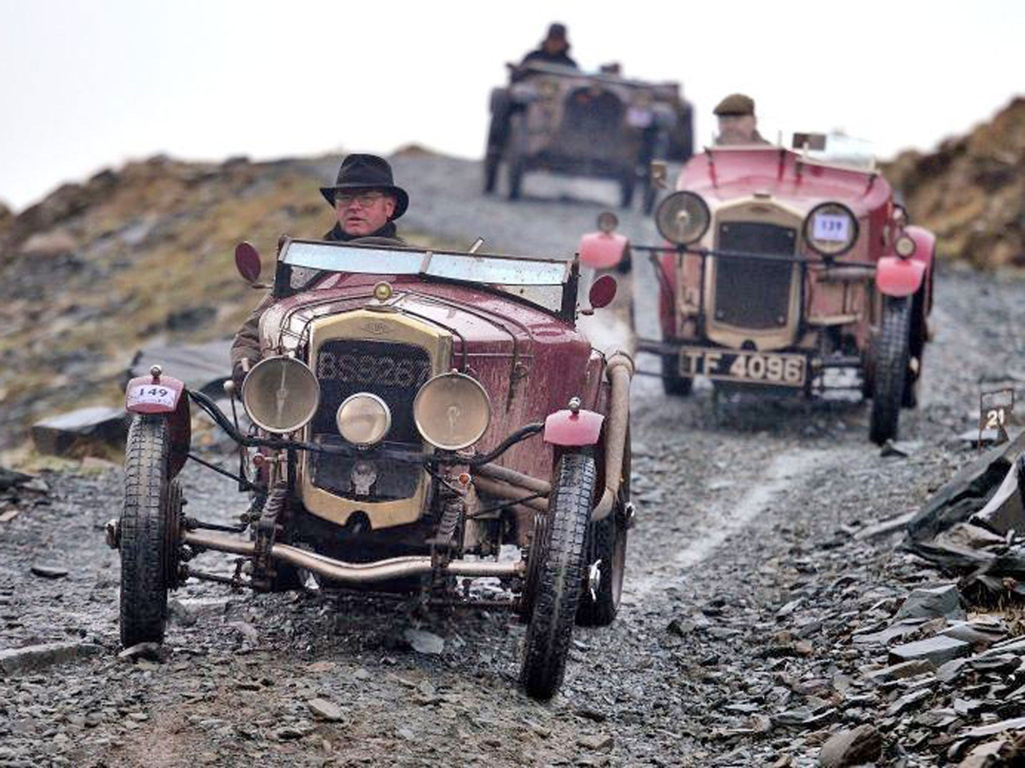 In pictures: Vintage Car Rally in Cumbria | The Independent