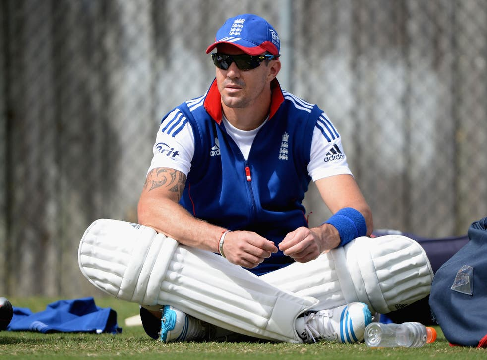 Kevin Pietersen will have a scan and treatment on a knee