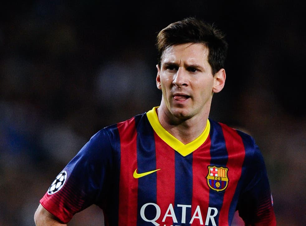 Barcelona forward Lionel Messi has been urged by team-mate Cesc Fabregas not to rush his return from injury