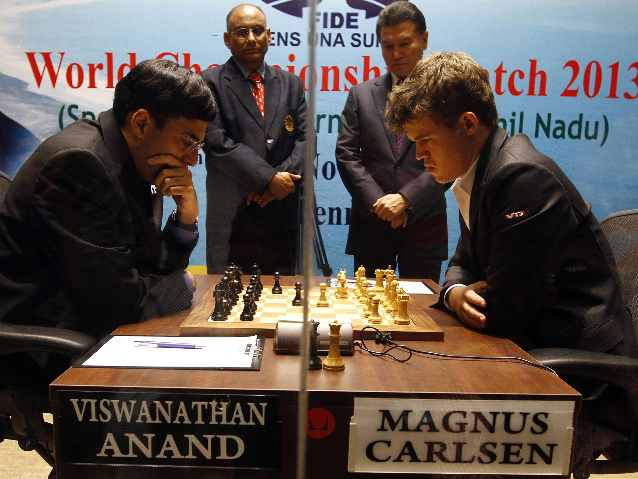 Viswanathan Anand vs Magnus Carlsen: Chess stages biggest game since Fischer vs Spassky