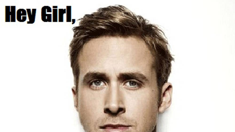 Ryan Gosling Is Really Not Into His Infamous 'Hey, Girl' Meme I've.