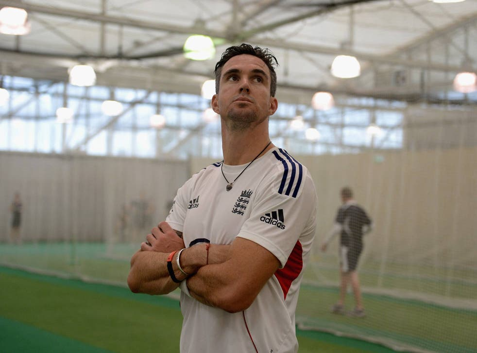 Kevin Pietersen of England during a nets session at Sydney Cricket Ground