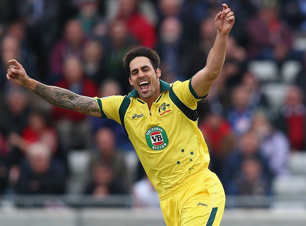 Mitchell Johnson's good form in one-dayers has led to his Test recall