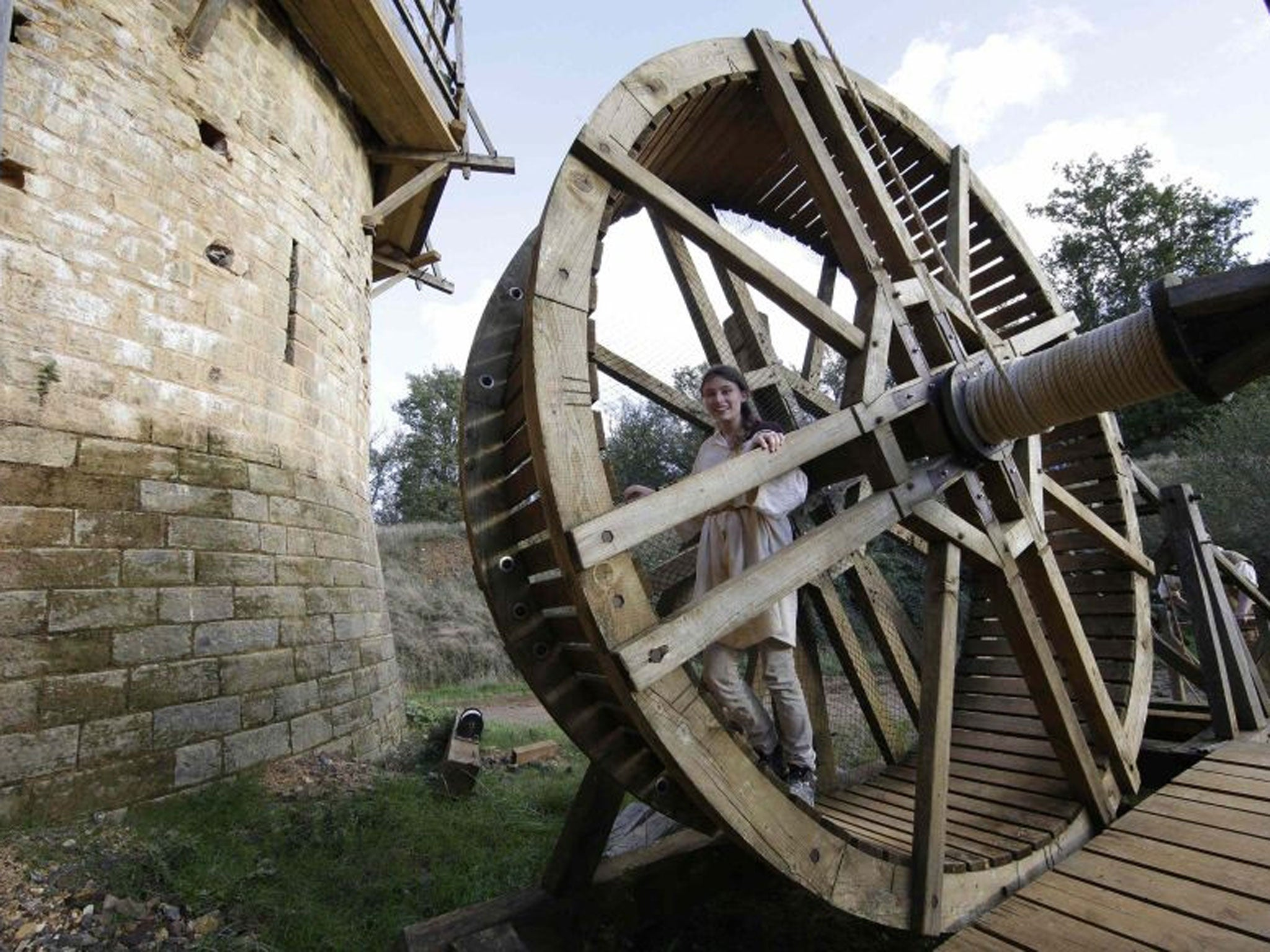 In pictures: Chateau de Guedelon in the Burgundy region of
