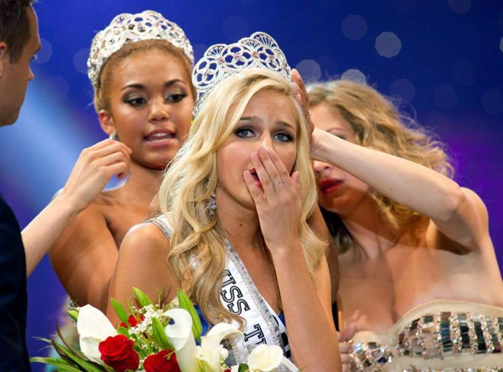 File: Cassidy Wolf is crowned Miss Teen USA 2013 at Paradise Island, Bahamas. Computer science student Jared james Abrahams, 19, has pleaded guilty to hacking the computers of Miss Teen USA and other young women, secretly photographing them and threatening to post the pictures online if they didn't send him more naked photos