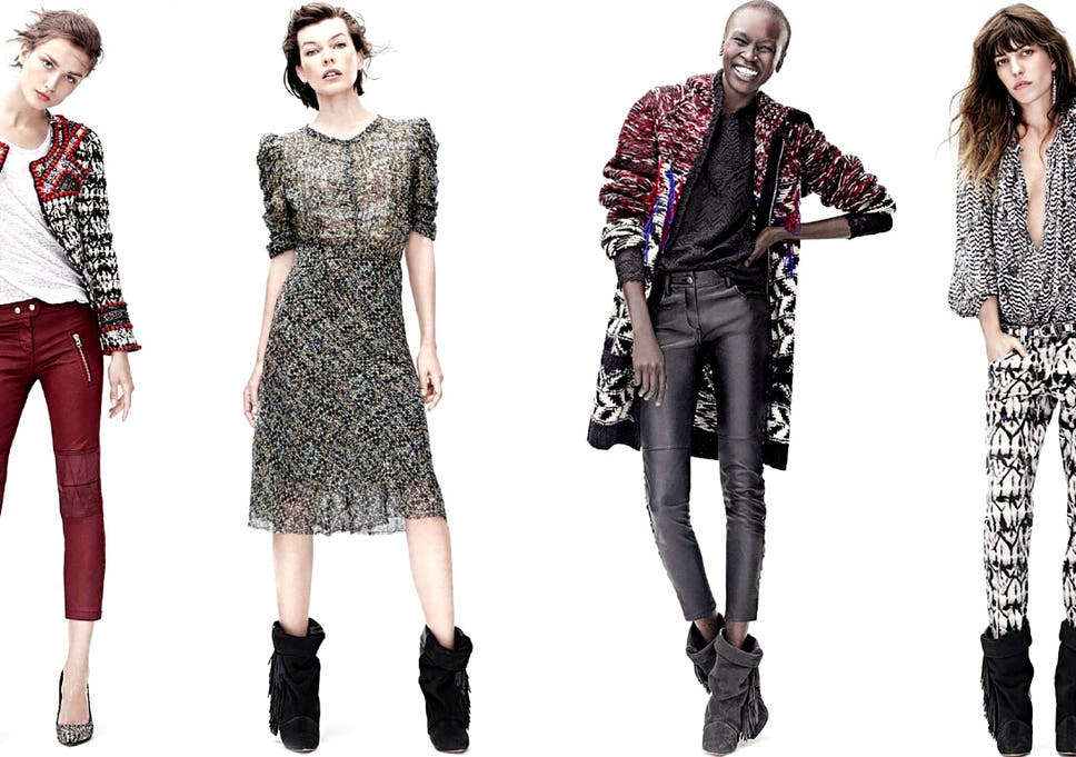 8e61edb9db Isabel Marant for H M  Collection designer is no Karl Lagerfeld ...