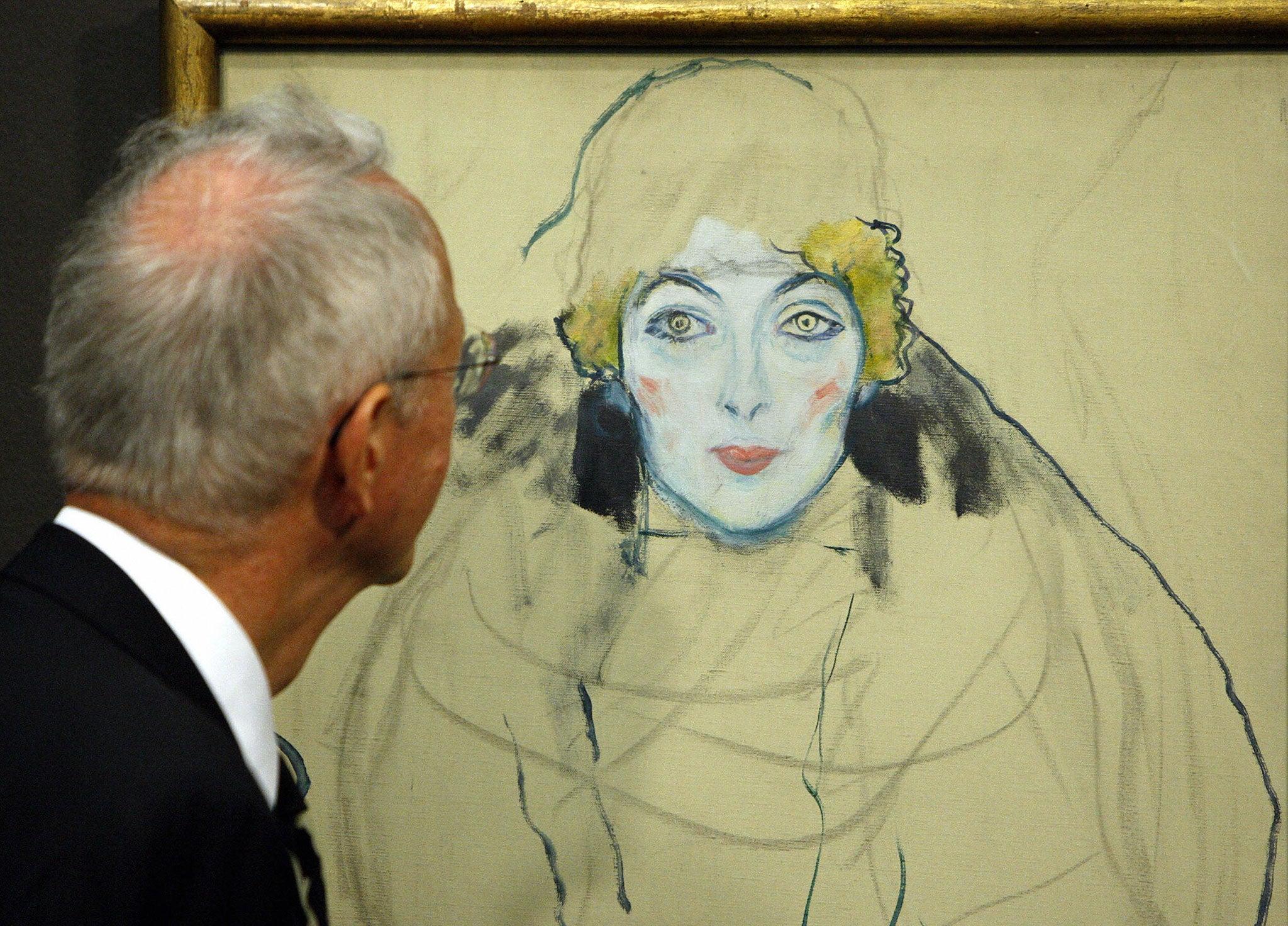 Austrian Art Klimt Drawings