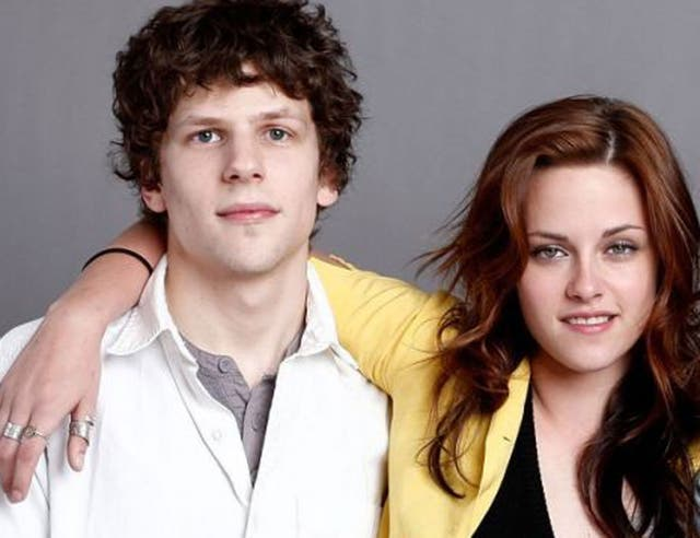 Kristen Stewart (right) and Jesse Eisenberg (left) will team up again for action comedy American Ultra