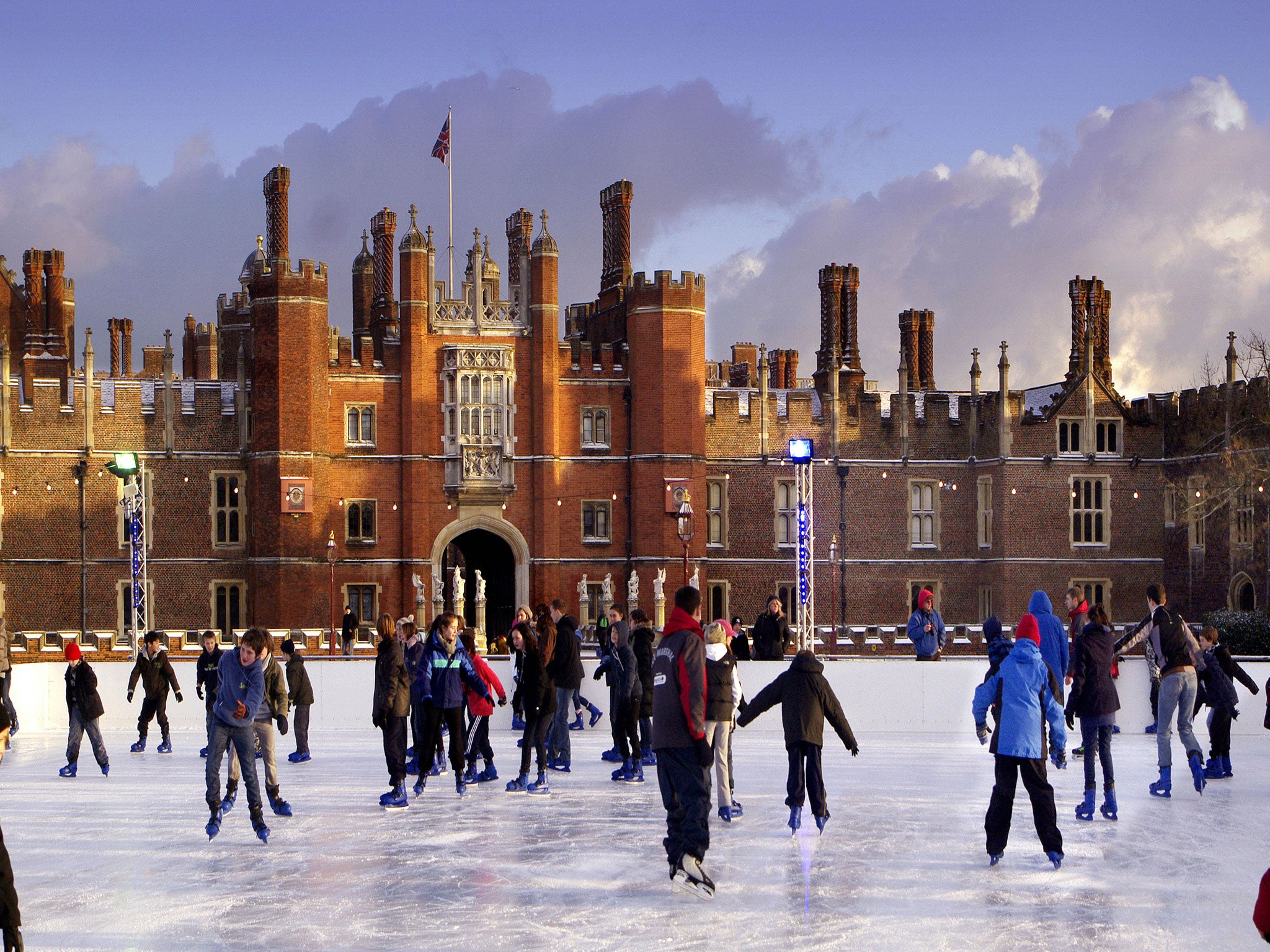 Christmas Ice Skating.The 10 Best Christmas Ice Rinks The Independent