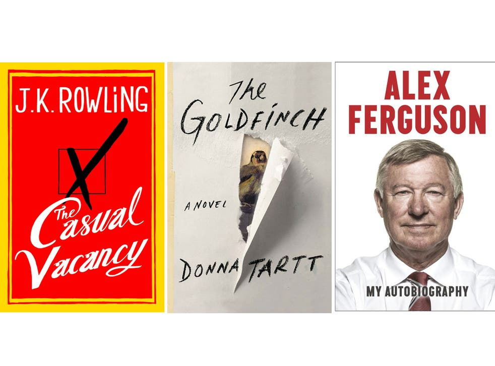 Cover price: these authors commanded big fees, but it can be hard to predict which titles will sell well