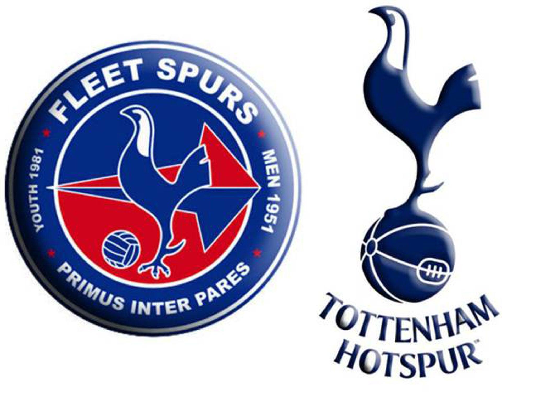 Tottenham Hotspur badge: Fleet Spurs made to change their ...