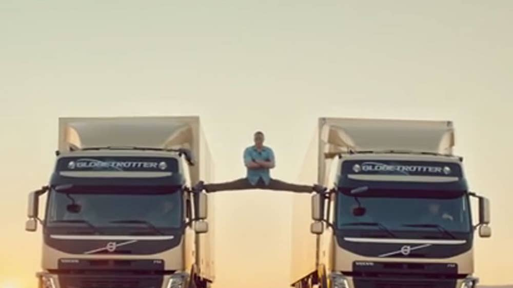 Video: Van Damme performs an 'Epic Split' | The Independent
