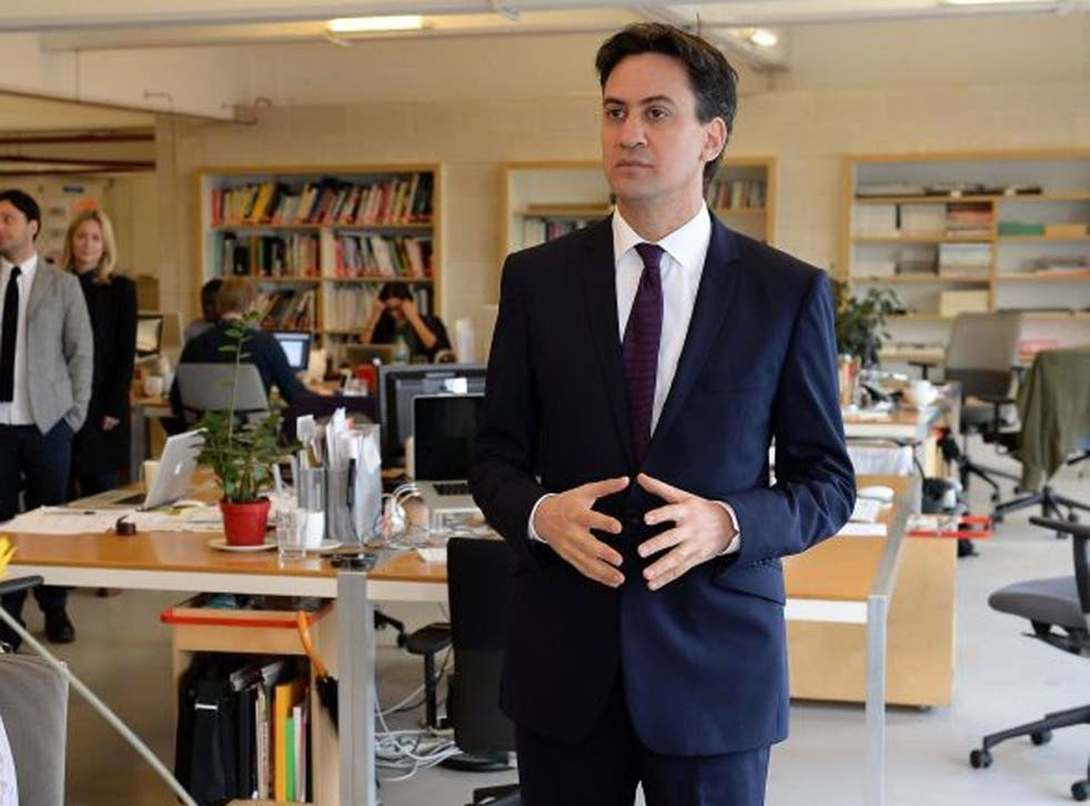 According to the Independent's poll Labour has increased it's lead, but voters still cannot imagine Ed Miliband as Prime Minister