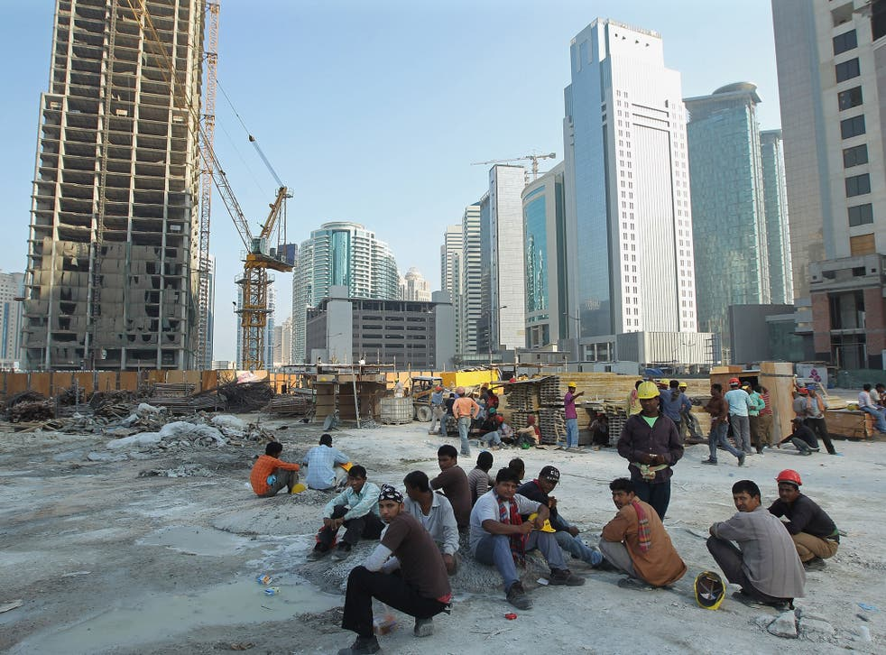 Foreign workers in Qatar are beholden to employers who sponsor their visas