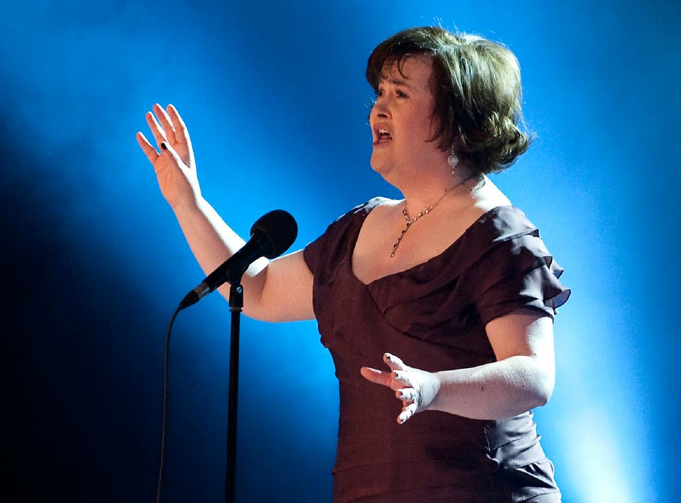 Susan Boyle, here performing 'I Dreamed A Dream', has revealed she has been diagnosed with Asperger syndrome