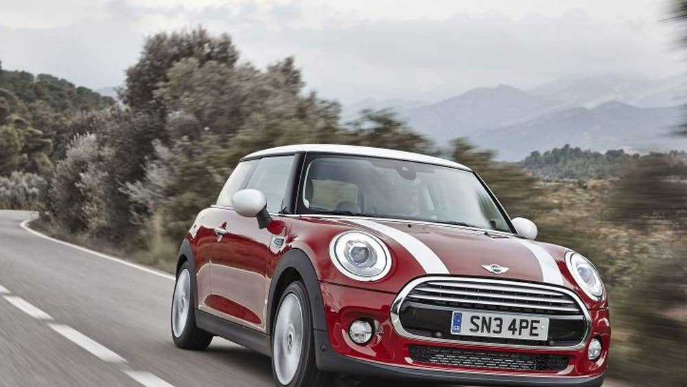 In Pictures Bmw Launches The New Mini Car In Oxford The Independent