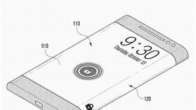 The old 'slide to unlock' function familiar to smartphone owners could remain, but moved off to the side of the device.