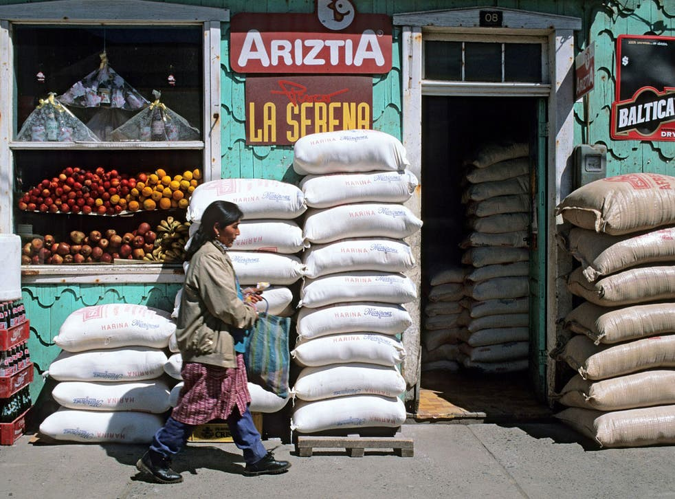 Root cause: food shop in Chiloé
