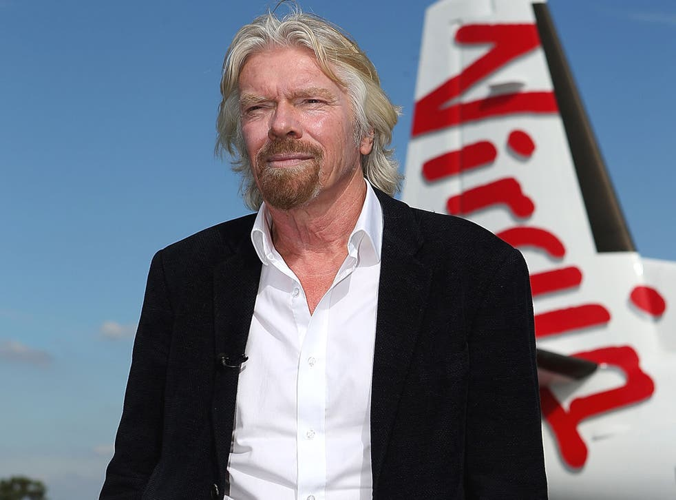 Sir Richard Branson, founder of the Virgin empire