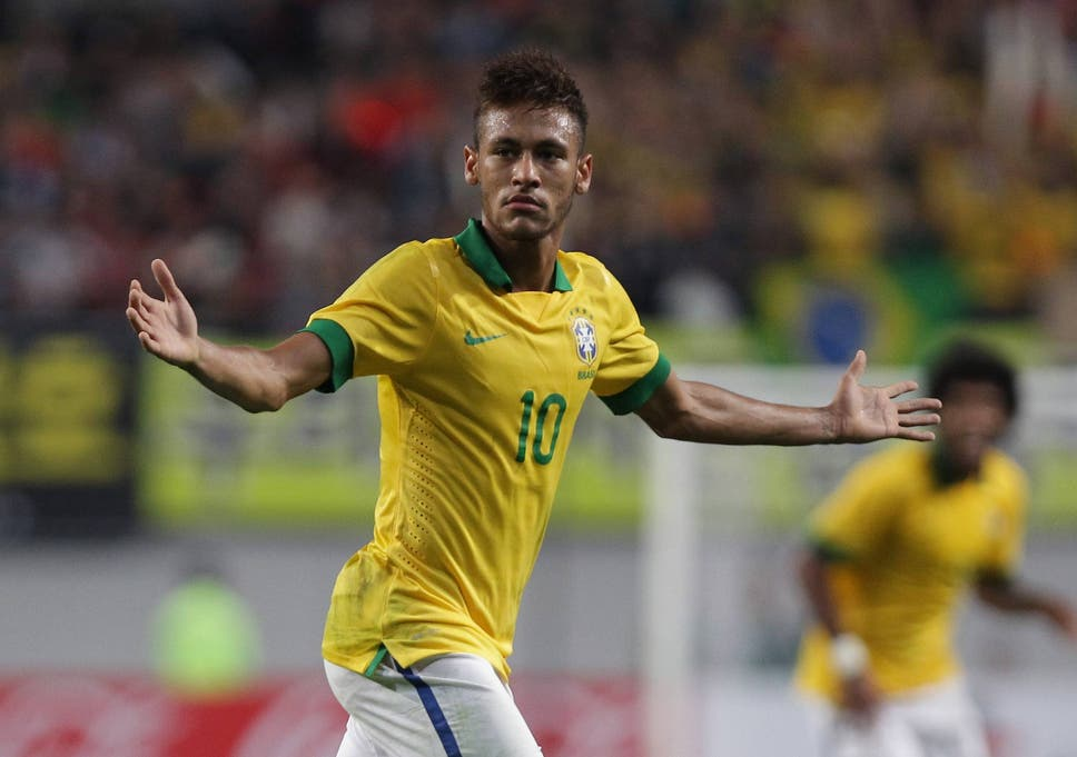 aca62f428b9 Neymar will feature for Brazil in their home World Cup in June