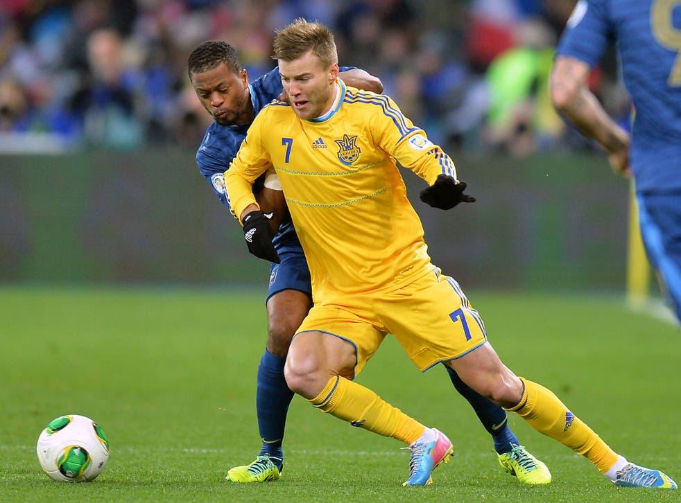 Liverpool have rekindled interest in Dinamo Kiev winger Andriy Yarmolenko