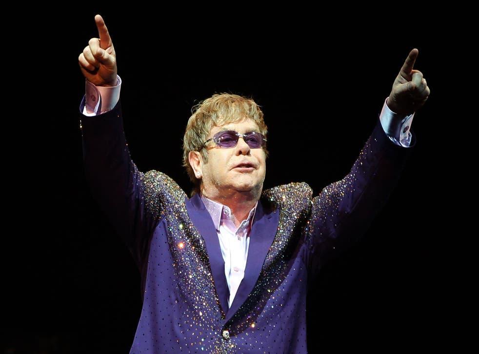Sir Elton John's gigs in Russia to go ahead despite anti-gay laws
