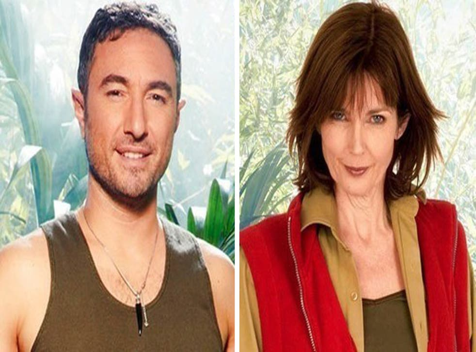 I'm A Celebrity 2013: Strictly's Vincent Simone and model Annabel Giles enter the jungle
