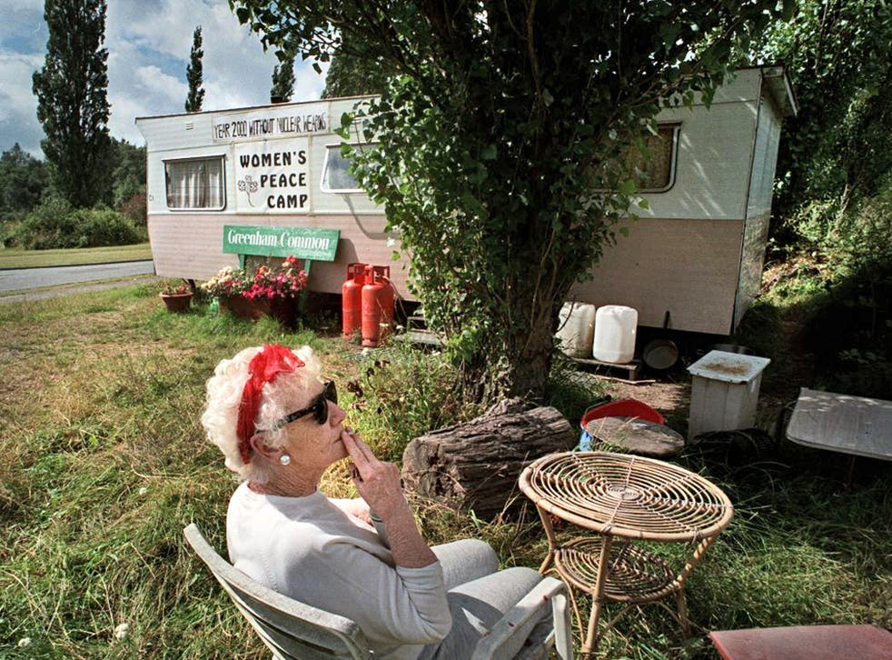 Autumn for the feisty generation: Greenham Common Women's Peace Camp