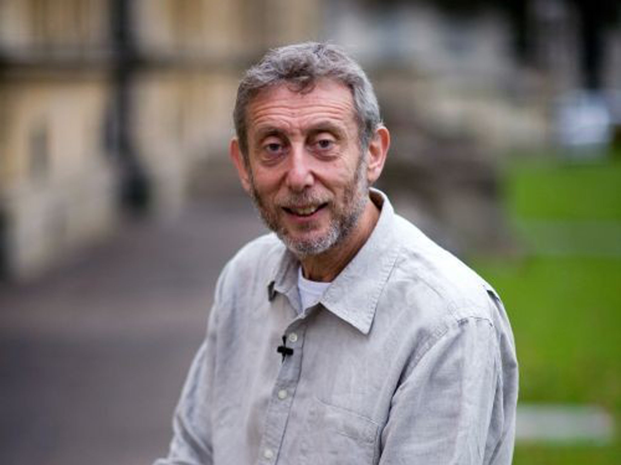 Michael Rosen out of intensive care after eight weeks in hospital, wife says