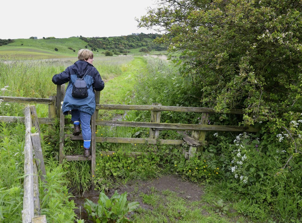 Councils have reduced the numbers of staff responsible for the upkeep of rights of way